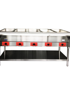Atosa 72 Electric 5 well Dry Steam Table 3750w 220v Csteb 5b
