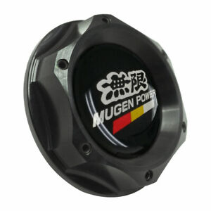 Black Twist On Engine Oil Filler Tank Cap Cover Aluminum For Acura Honda