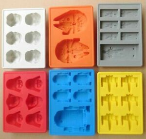Diy Silicone Star Wars Ice Maker Cube Tray Mold Cocktail Whiskey Chocolate Mould