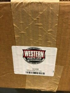 Western Snow Plows Receiver Kit Driver Side 42496