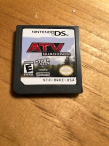 ATV: Quad Kings (Nintendo DS  2010) Looks And Works Great Guaranteed