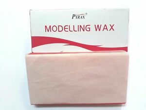 Dental Modelling Wax Use For Dentures 12 Sheets Pack By Pyrex 200 Gram
