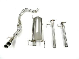 S s Maximizer Cat Back Exhaust System For 2003 09 Toyota 4runner 4 0l 4 7l