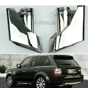 Exhaust Tips For Land Rover 05 12 Range Rover 304 Stainless Steel Muffler Pipes