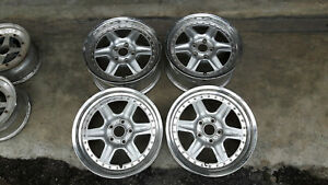 Jdm 17 Ssr Dupond Rims Wheels For Is200 300zx Rx7 Fd3s 240sx 180sx