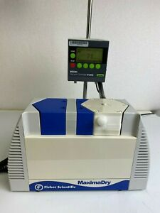 Fisher Maximadry Pu 1306 n820 9 01 Diaphragm Vacuum Pump Tested To 60 Torr Knf