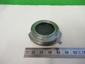 Carl Zeiss Germany Pol Polarizer Microscope Part Optics As Pictured