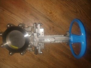 6 Inch Stainless 304 Knife Gate Valve