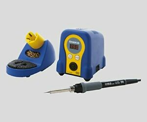 Hakko2 9920 02 Station type Soldering Iron Blue Yellow Fx888d 01by