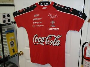 1998 NASCAR Dale Earnhardt Coca-Cola Racing Family T-Shirt RED XXL CHASE