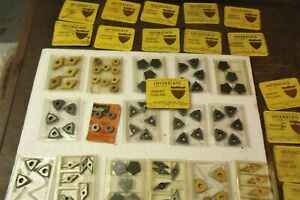 Hundreds Of New Used Machine Shop Tools Inserts momax lathe Cutting endmills