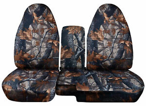 1991 2012 Ford Ranger 60 40 Camouflage Camo Seat Covers Choose Color