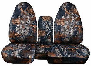 1991 2012 Ford Ranger 60 40 Camouflage Camo Seat Covers Choose Color Tdv