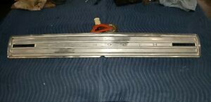 1966 Plymouth Satellite Tail Panel Rear Trim Finish Call Out Aluminum 66 Restore