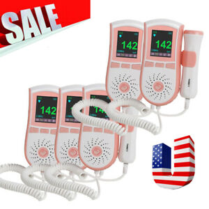 5pcs Prenatal Fetal Heart Doppler Baby Heart Monitor 3mhz Probe Household Care