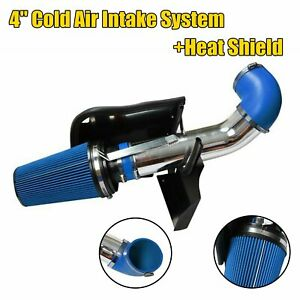 Blue 4 Cold Air Intake System heat Shield For 99 06 Gmc chevy V8 4 8l 5 3l 6 0l
