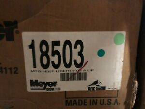Meyer Snow Plows Mount For Jeep Liberty 03 And Newer Dp 18503
