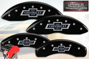 2015 2020 Chevrolet Suburban Front Rear Black Mgp Brake Disc Caliper Covers