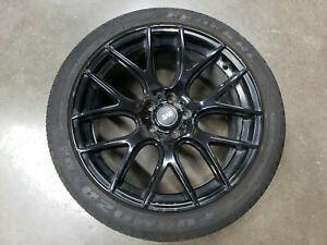2015 2019 Ford Mustang Gt 5 0 19x9 5 Wheel Rim Tire 255 40 19 Aftermarket Sve
