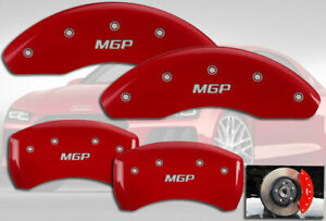 2015 2019 Audi A3 Front Rear Red Engraved Mgp Brake Disc Caliper Covers 4pc