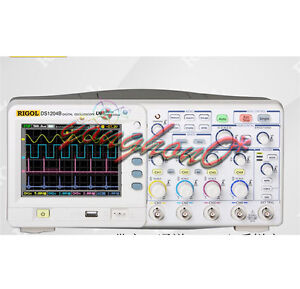 New Rigol Ds1204b 200mhz Digital Oscilloscope 4 Channel Us Authorized Dealer