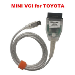 V14 20 019 Cheapest Mini Vci Single Cable Support Tis Oem Diagnostic Software