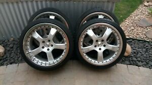 Mercedes Audi Vw Oz Racing As7 Wheel And Tire Set