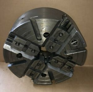 15 Warner Swasey Extra Heavy Duty 4 jaw Independent Lathe Chuck A2 11 Mount