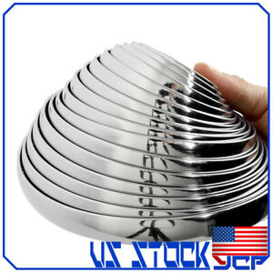 6m 12mm Car Bumper Strip Adhesive Bright Silver Chrome Moulding Trim Sticker