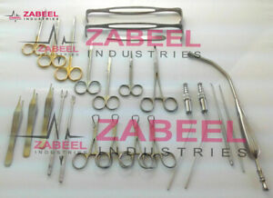 Nasal Set Of 40 Instruments Surgical Ent Medical Instruments Zabeel Industries