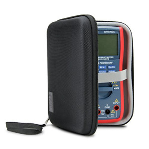 Hard Digital Multimeter Carrying Case By Usa Gear Voltage Tester Travel Cas