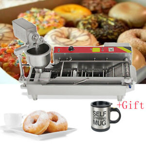 Automatic Control Commercial Donut Fryer Maker Making Machine Donut Cook Device