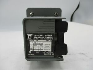 Square D 2510 kw1 Manual Motor Starting Switch