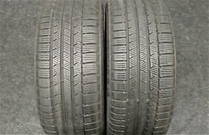2 Continental Contiwintercontact Ts810s 225 40 18 Snow Tires