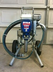 Graco Gm 5000 Gas Paint Sprayer Honda Engine
