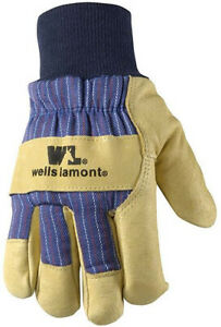 Wells Lamont 5127 Lined Pigskin Leather Palm Gloves