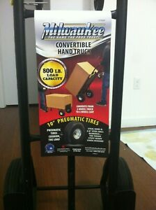 Milwaukee Convertible Hand Truck 800 Lbs Capacity Free Pick Up In Miami Fl