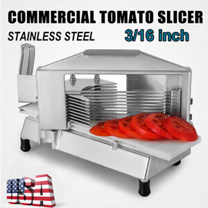 3 16 Stainless Steel Tomato Slicer Cutter Built in Guard To Protect Finger