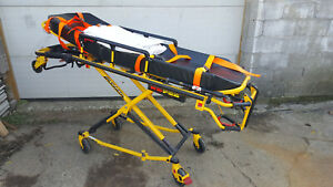 Stryker Mx pro 6080 600 Lbs Capacity Ambulance Cot Stretcher Gurney Emt Bed