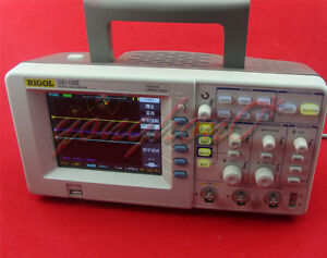 New Rigol Digital Oscilloscope Ds1102e 100mhz 1gsa s 1mpts 3 Years Warranty