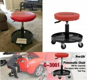 Professional Mechanics Rolling Seat Creeper Roller Chair Stool Wheels Adjustable