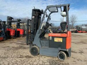 2013 2014 Toyota 3500 Pound Budget Forklifts we Will Ship Load l k