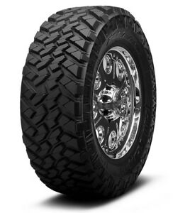 4 New 37x12 5 17 Nitto Trail Grappler M T 124q 12 5r R17 Tires