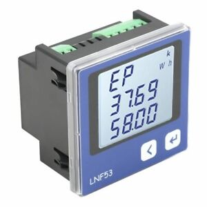 3 phase Multi functional Intelligent Power Meter With Lcd Display Ac380v 5a 3p4w