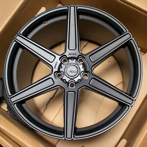 20 Adv1 Forged Adv6 Black Concave Wheels Rims Fits Ford Shelby Gt350 Wide Body