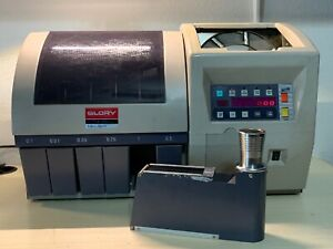 Glory Mini Sort Commercial Change Sorter Counter Bank System Machine Works