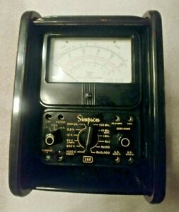 Vintage Simpson Model 260 Series 3 Volt Ohm Meter