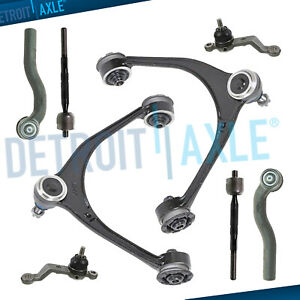 8pc Front Upper Control Arms Ball Joints Tierods For 1998 2005 Lexus Gs300 Gs430