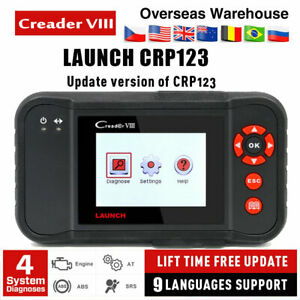 X431 Creader Vii Auto Diagnostic Tool Obd2 Code Reader Scanner As Crp123 Usa