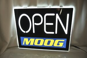 Moog 18 Led Lighted open Store Window Display Sign